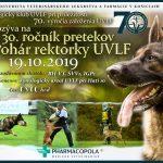 Pozvánka na 30. ročník preteku o Pohár rektorky UVLF